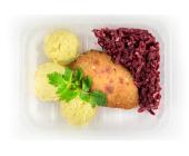 Zestaw 2: Kotlet mielony, ziemniaki gotowane i buraczki - miniaturka - raz na wozie