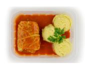 Zestaw 3: Gołąbek w sosie pomidorowym i ziemniaczki gotowane - miniaturka - raz na wozie