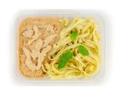 Zestaw 12: Tagiatelle z kurczakiem w sosie śmietanowym - miniaturka - raz na wozie